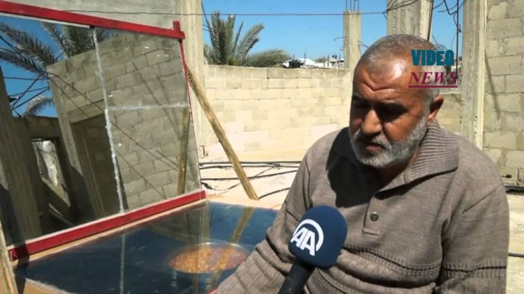 DIY Solar Oven By Palestinian 2
