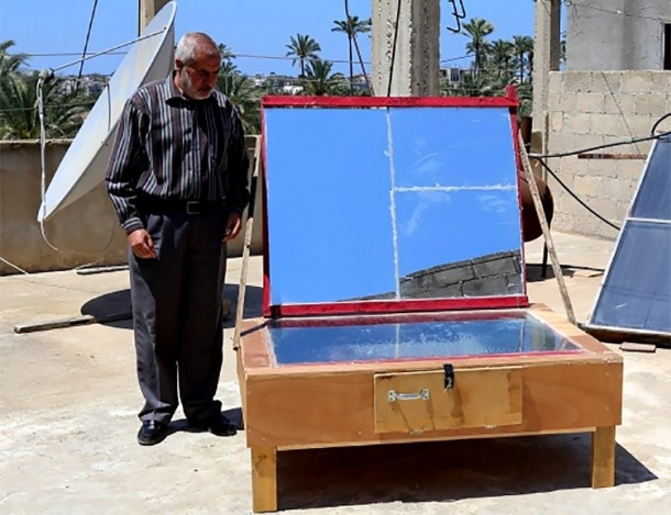 DIY Solar Oven By Palestinian