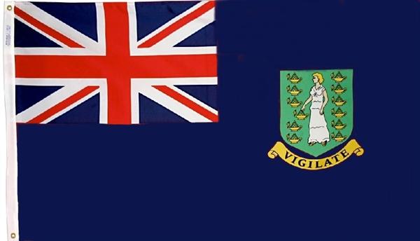 Flag of the British Virgin Islands  (1)