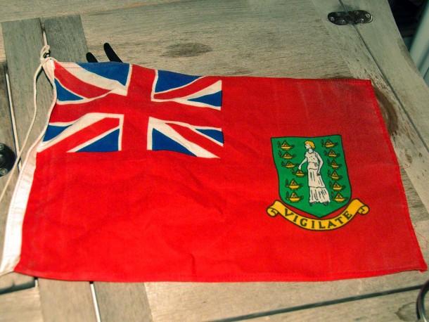 BVI courtesy flag removed