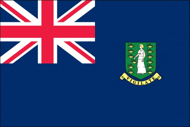 British Virgin Islands Courtesy Flag