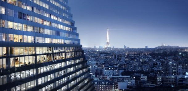Herzog and de Meuron Design The Tour Triangle For Paris 2