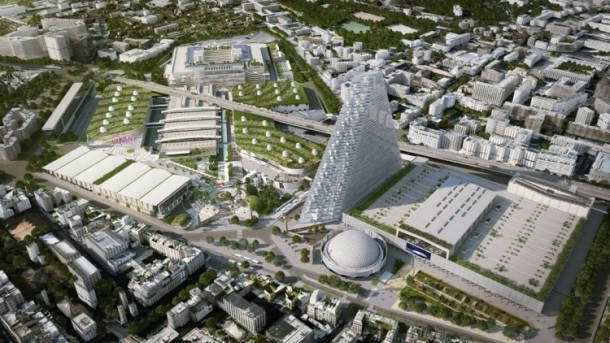 Herzog and de Meuron Design The Tour Triangle For Paris 5