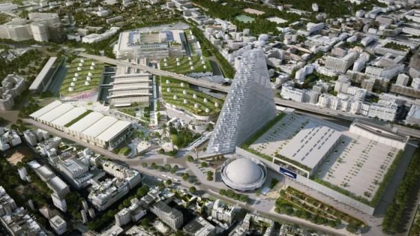 Herzog and de Meuron Design The Tour Triangle For Paris 5