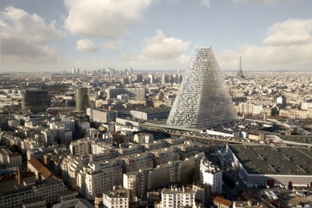 Herzog and de Meuron Design The Tour Triangle For Paris