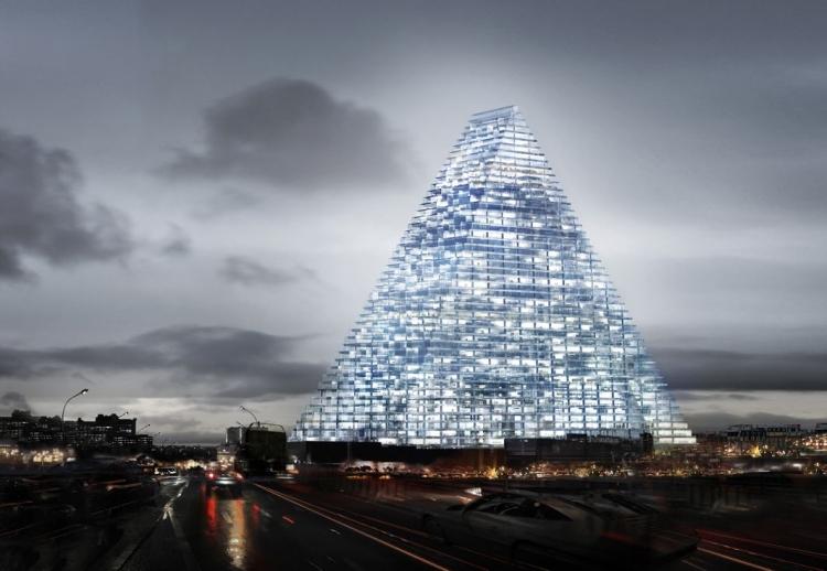 Herzog and de Meuron Design The Tour Triangle For Paris 8