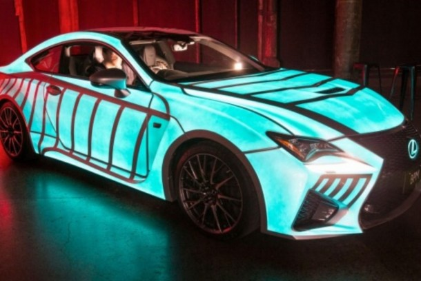 Lexus Car's Paint-Job Flashes In Sync With Driver's Heartbeat 4