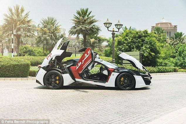 Meet Abu Dhabi's Robocar – Lykan HyperSport 5