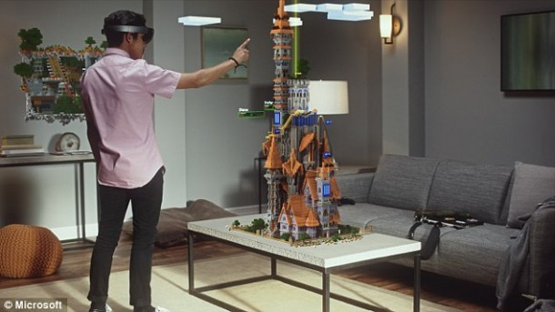 Microsoft HoloLens Video Is Out And It Is Amazing 4