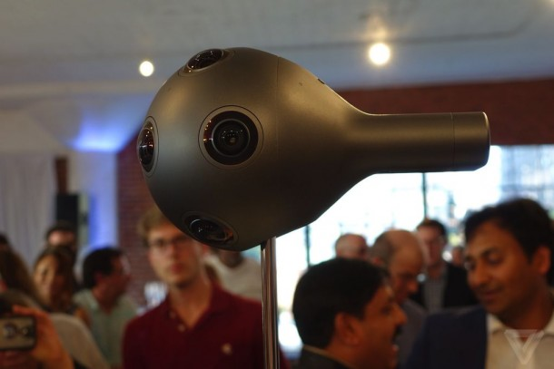 Nokia's Virtual Reality Camera OZO 5