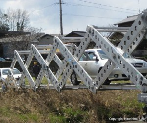 Origami Inspired Portable Emergency Bridge 2