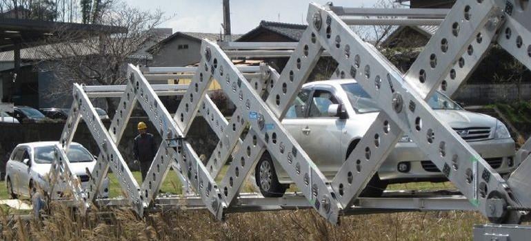 Origami Inspired Portable Emergency Bridge 2