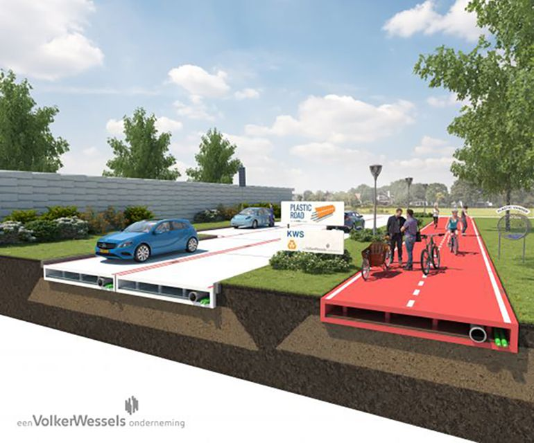 Plastic Roads Are On Their Way