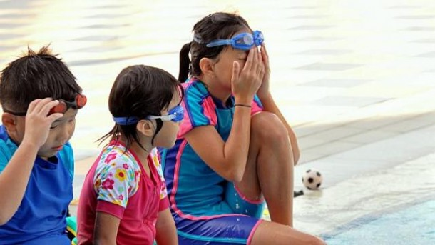 Red Eyes After Swimming Due To Urine and Not Chlorine 5