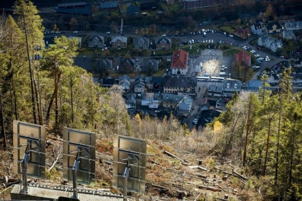 Rjukan Makes Use Of Mirrors For Sunlight