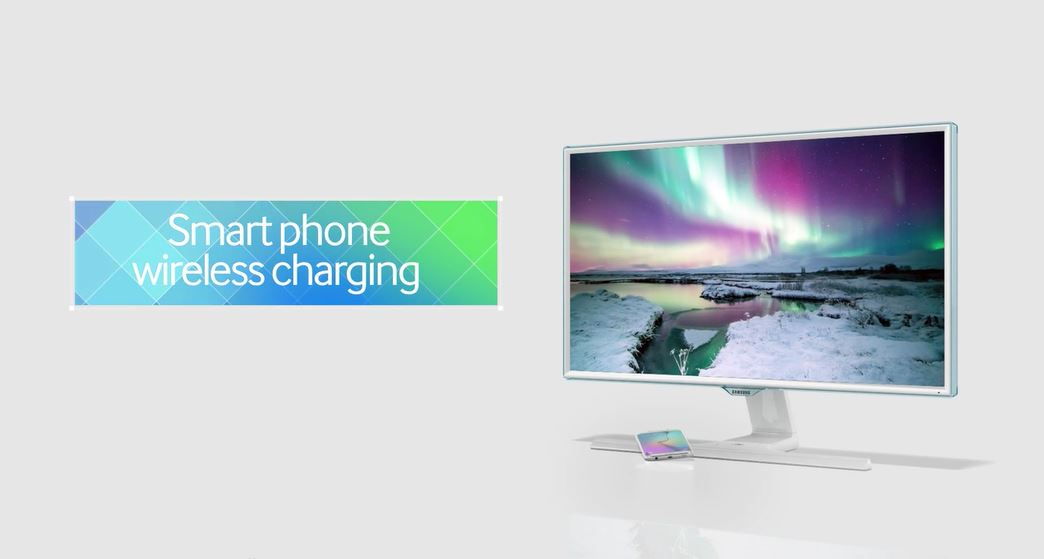 Samsung Has Designed A Monitor That Offers Wireless Charging 4