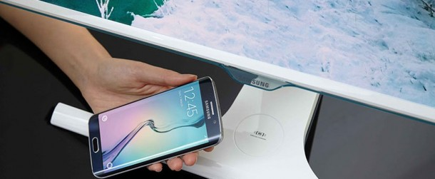Samsung Has Designed A Monitor That Offers Wireless Charging