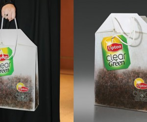 Shopping bag teabag