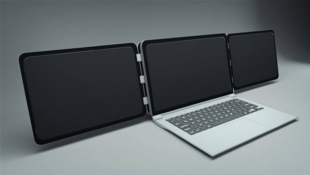 Sliden'Joy Attaches Extra Displays To Your Laptop 2