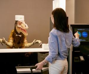 Strange Hotel In Japan Has Robotic Staff