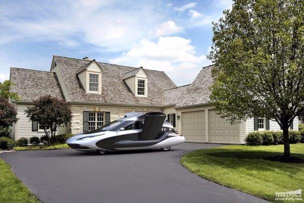 Terrafugia Take Veils Off Of The New Design For Autonomous Flying Car 3