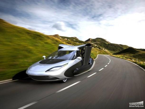 Terrafugia Take Veils Off Of The New Design For Autonomous Flying Car