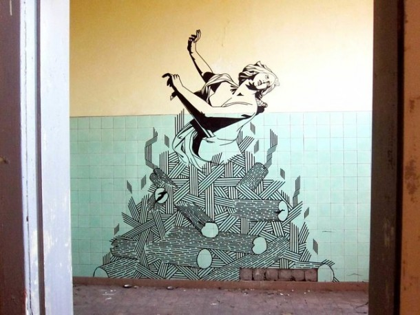 This Artist Transforms Boring Surfaces Into Amazing Pieces Of Art 2