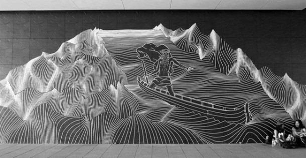 This Artist Transforms Boring Surfaces Into Amazing Pieces Of Art 4