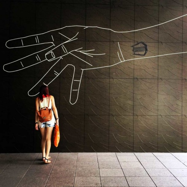 This Artist Transforms Boring Surfaces Into Amazing Pieces Of Art 4a