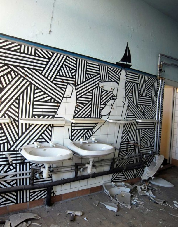 This Artist Transforms Boring Surfaces Into Amazing Pieces Of Art 4c