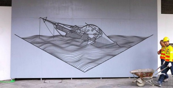 This Artist Transforms Boring Surfaces Into Amazing Pieces Of Art 4e