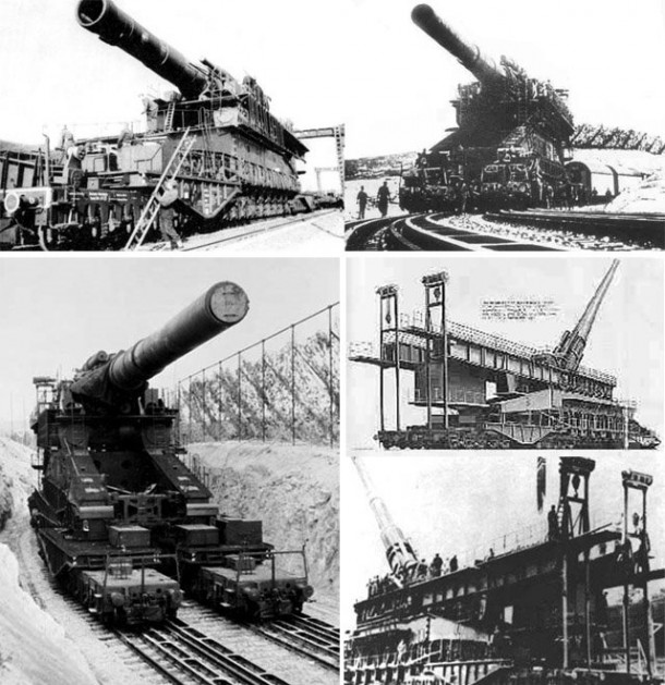 World War II And Big Cannons