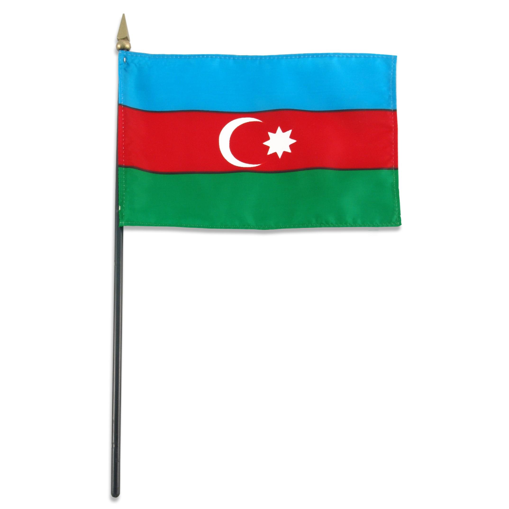 Flag Of Azerbaijan - The Symbol Of Islamic and Turkish Culture