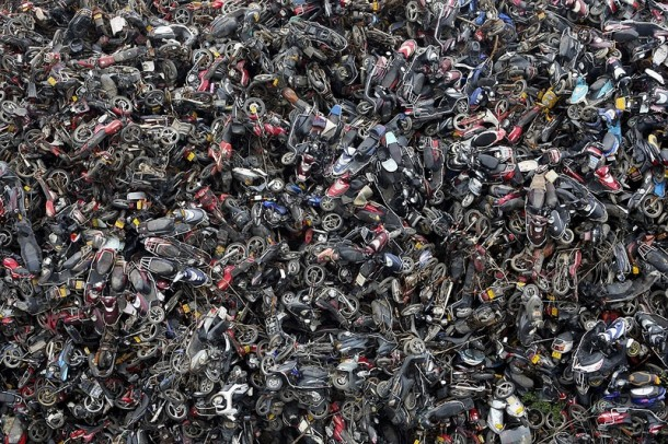 china junkyard pollution