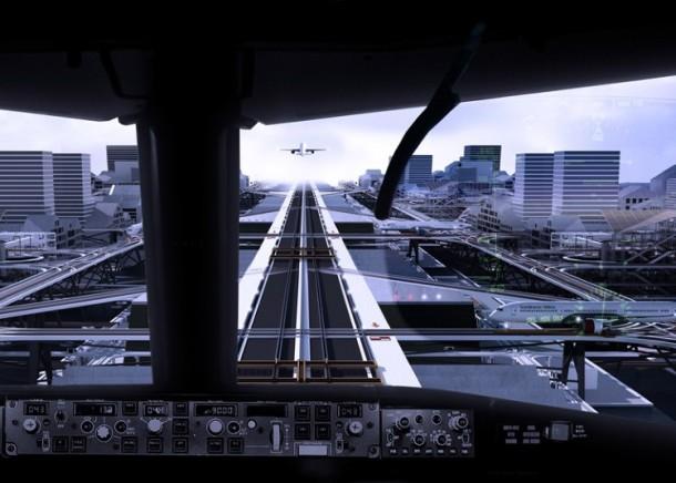 elevated runway