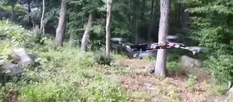 home-made armed drone connecticut