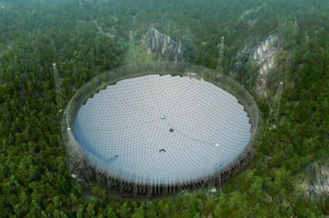 Assembly of World's Largest Radio Telescope In China Has Begun