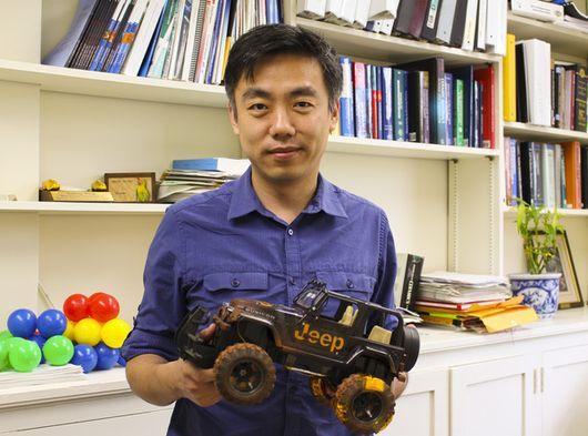 nanogenerator tyres
