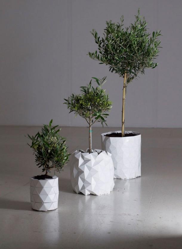 origami-pot-plant