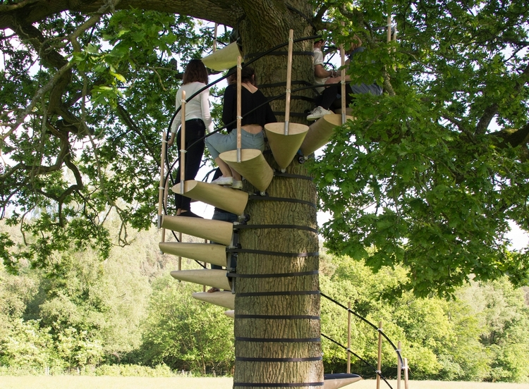 portable spiral staircase2