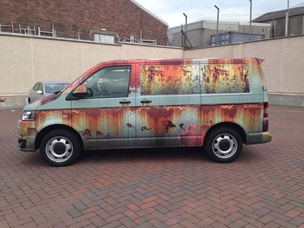 rust car