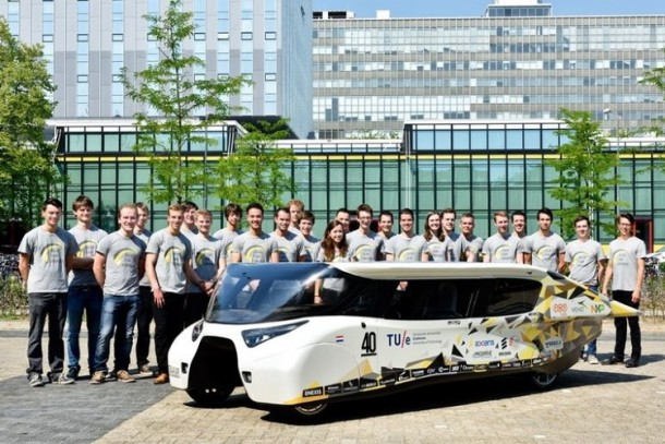 solar car stella5