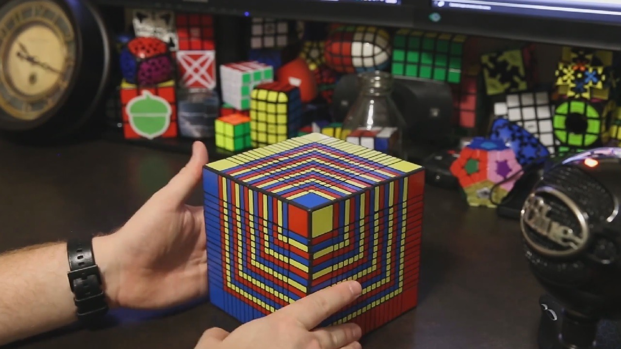 Here Is How You Can Solve A 17 x 17 X 17 Rubik Cube