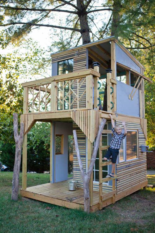 Amazing treehouse 8