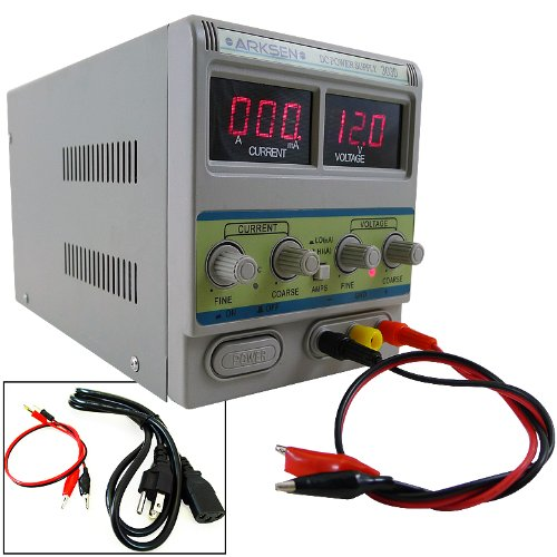 Digital DC Power Supply 30V 3A Precision