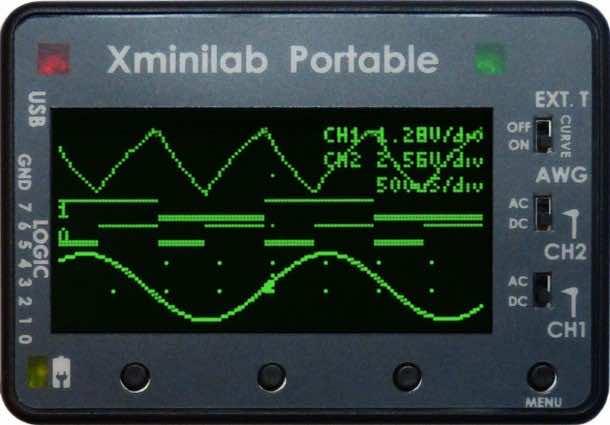 Xminilab, Wave Form Generator