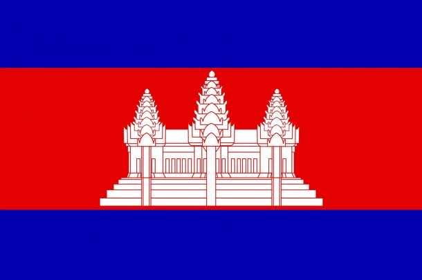 Cambodia flag (10)