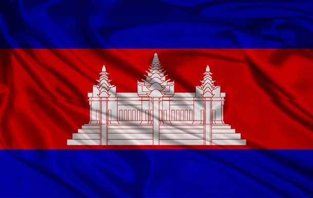 Cambodia flag (14)