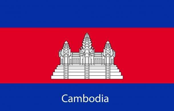 Cambodia flag (15)
