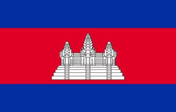 Cambodia flag (2)